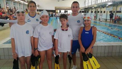 Nuoto pinnato: ottima prova per gli Esordienti al Trofeo Scarano