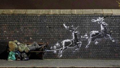 Banksy: chi è Babbo Natale?