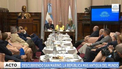 Al Senato Argentino la Repubblica di San Marino si presenta agli operatori turistici