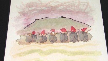 Un acquerello di Walter Gasperoni per il Natale di Soroptmist