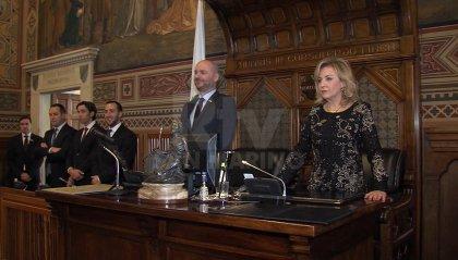 Inizia ufficialmente la XXX^ Legislatura, il saluto della Reggenza ai nuovi consiglieri