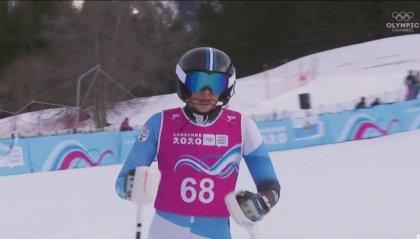 YOG Losanna 202, Tamagnini 35° nello slalom