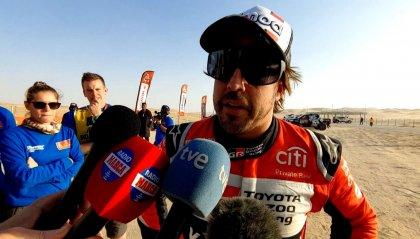 """Alonso: """"Incidente spettacolare ma senza danni"""""""