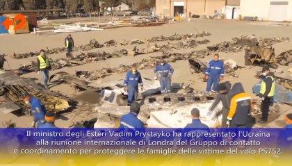 Ucraina: domani il trasferimento in patria delle vittime dell'aereo abbattuto in Iran