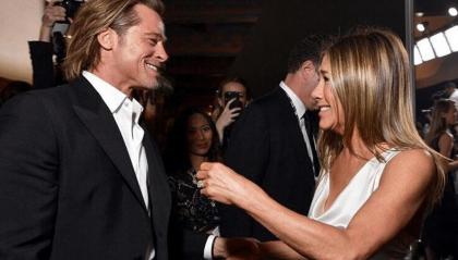 Brad Pitt e Jennifer Aniston fanno sognare i fan
