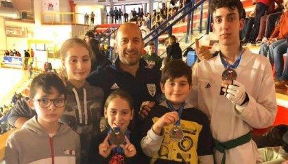 Taekwondo: 3 bronzi a Busto Arsizio all'Insubria Cup 2020