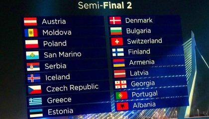 Eurovision Song Contest: San Marino sorteggiato nella seconda semifinale