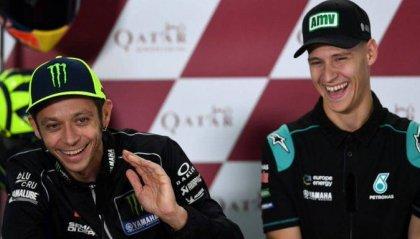 Quartararo in Yamaha dal 2021 ma Valentino non molla