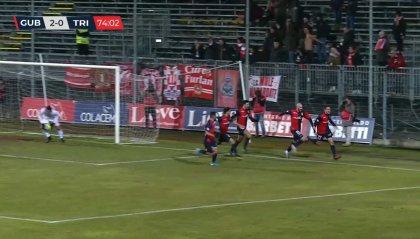 Serie C: recupero della 21° Virtus - Vecomp Verona - Gubbio 0-1