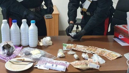 Droga: arrestato riminese scoperto con mezzo kg di eroina