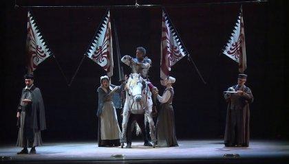Cervantes visto da Boni con la scudiera... alla Regina