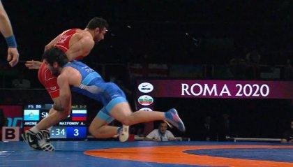 VIDEO | Myles Mularoni vince l'argento agli Europei di Roma 2020
