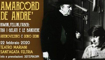 Amarcord De André. Fellini e Faber, tra i gelati e le bandiere