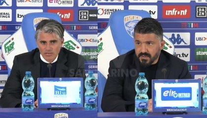 Brescia - Napoli 1-2, le parole di Diego Lopez e Gennaro Gattuso