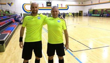 Arbitri: Ercolani e Tonelli a Malta per il Futsal Referee Exchange