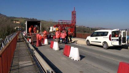 Da lunedì 2 marzo il ponte di Verucchio è transitabile per tutti i veicoli sotto le 40 tonnellate