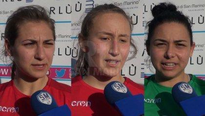 AS Roma - San Marino Academy, le parole delle giocatrici
