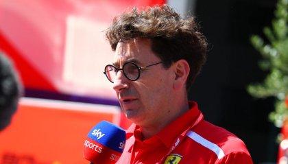 """F1: Binotto: """"La Ferrari disposta a correre anche a gennaio"""""""