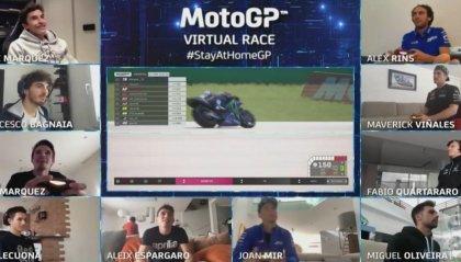 MotoGP Virtuale: Alex Marquez vince al Mugello