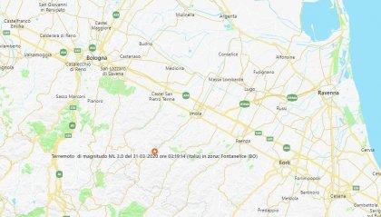 Scossa di magnitudo 3.0 nel Bolognese