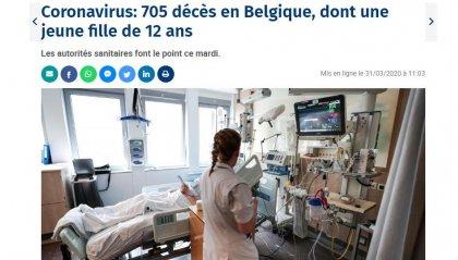 Covid-19, in Belgio muore bimba di 12 anni