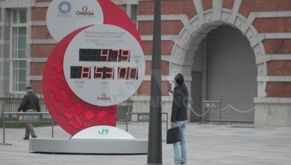 Giochi Olimpici, Tokyo riposiziona il countdown