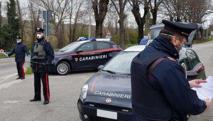 Carabinieri Novafeltria: sei denunce per aver violato le misure restrittive