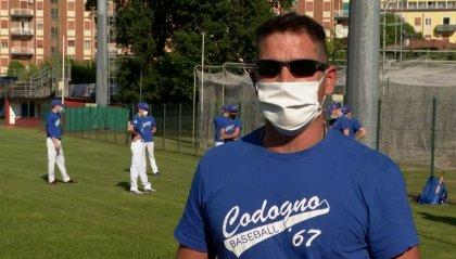 Codogno riparte dallo sport: il baseball torna ad allenarsi
