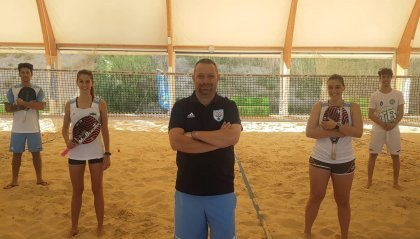 Beach tennis: tornati al lavoro gli atleti della Nazionale
