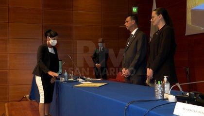 Consiglio: giura Maria Cristina Albertini