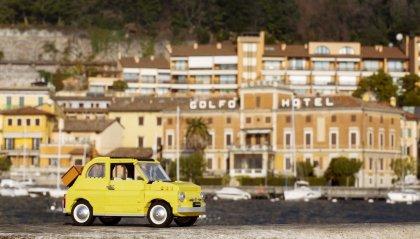 Fiat 500 Lego Gialla