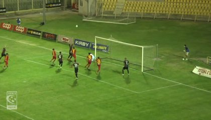Playoff: Catania rimonta il Francavilla, Novara, Padova e Catanzaro avanti senza reti