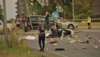 Drammatico incidente a Gatteo, perdono la vita padre e figlia 12enne