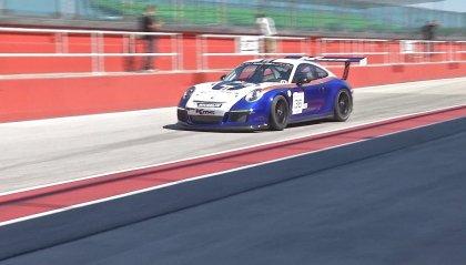 """Poker di vincitori al """"limite"""" nella prima del Porsche Club GT a Misano"""