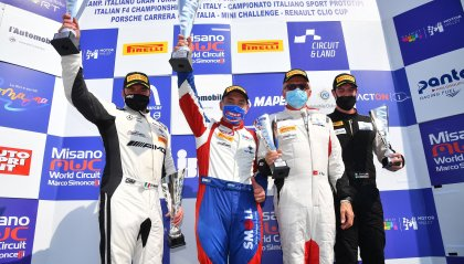 Paolo Meloni vince a Misano