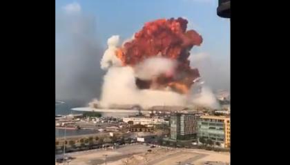 Beirut: esplosioni al porto con morti e feriti