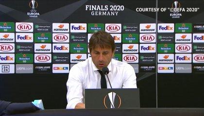 """Inter ai quarti di Europa League, Conte: """"Il Getafe è partito meglio, poi abbiamo preso in mano la partita"""""""