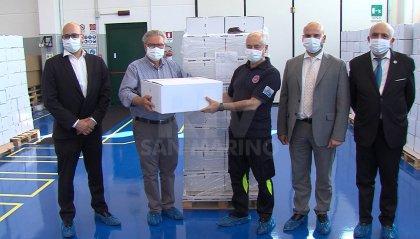 Coronavirus: Alutitan dona 35.000 mascherine chirurgiche alla Protezione Civile