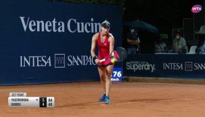WTA Palermo: Camilla Giorgi annulla due match point e conquista la semifinale