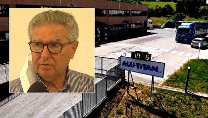 Ampliamento Alutitan: il progetto, assicura Fiorenzo Rivelli, continua