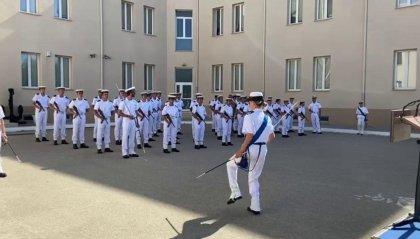Ballano Jarusalema durante la cerimonia di giuramento