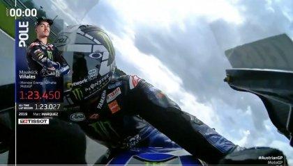 GP Austria, pole di Viñales su Miller e Quartararo