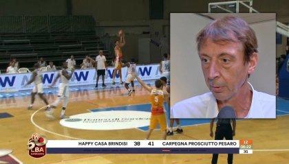 """VL Pesaro, Magnifico: """"Ottimo lavoro di squadra. Manca un elemento sotto canestro, se Eboua non fosse scelto al Draft NBA..."""""""