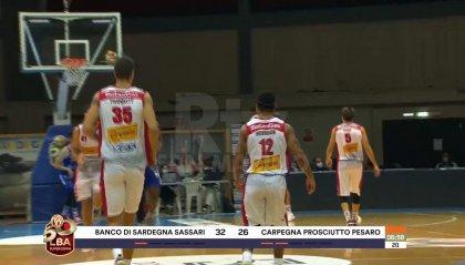 Pesaro esce a testa alta, Sassari battuta 81-78