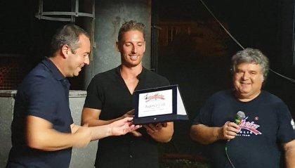 Il segretario Lonfernini ha premiato Federico Celli