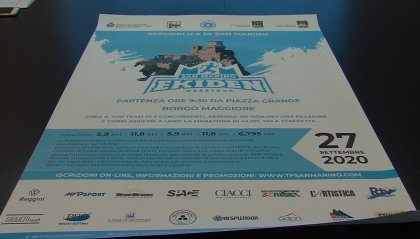 Interesse e adesioni da tutta Italia per le maratone di San Marino. Iscrizioni aperte fino al 26 settembre