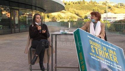 Ambiente: a Dogana il messaggio di Federica Gasbarro, la 'Greta Thunberg' italiana