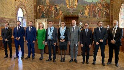 L'Ambasciatore Ue, Alexandra Valkenburg-Roelofs presenta le credenziali alla Reggenza