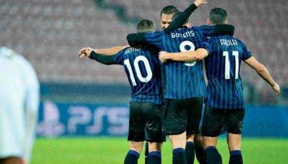 Atalanta: è subito show contro il Midtjylland, termina 4-0