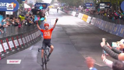 Giro: tappa a Cerny, Kelderman resta in rosa